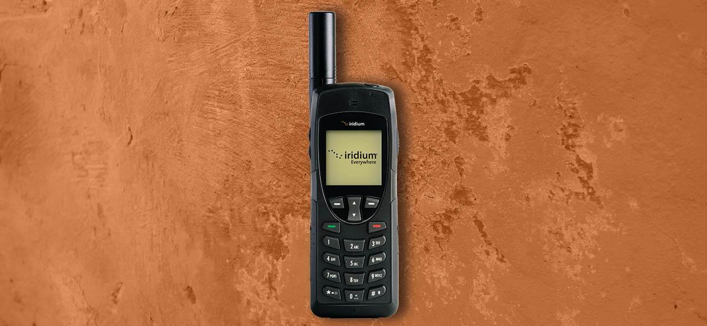 Location téléphone satellite Iridium 9555